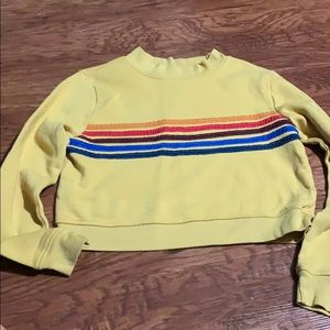 Tilly's crop sweatshirt